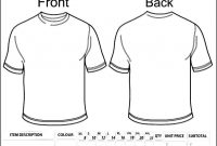Blank Clothing Order Form Template  Besttemplates  Sample Order inside Blank T Shirt Order Form Template