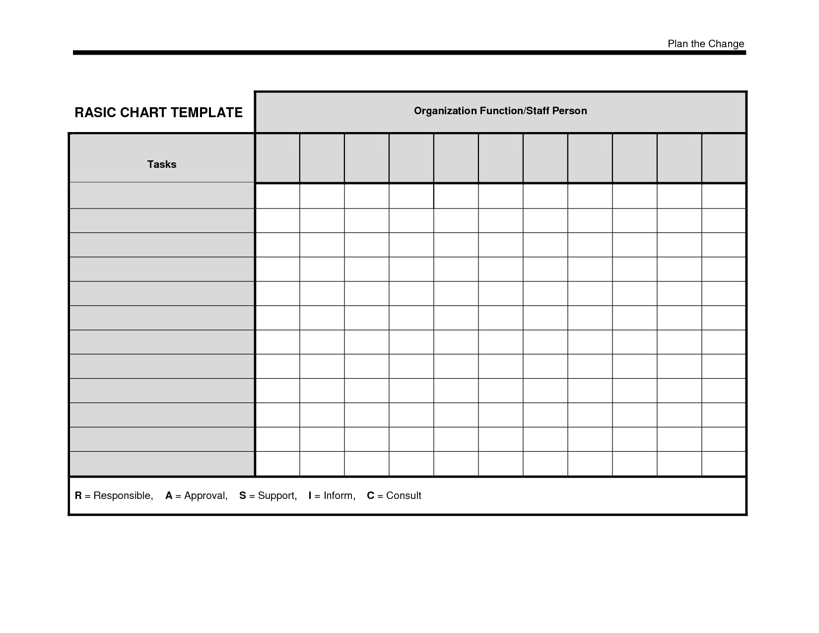 Blank Data Chart Template  Chart And Printable World With Menu Chart Template