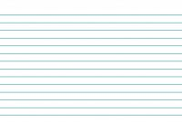 Blank Index Card Template regarding 3X5 Blank Index Card Template