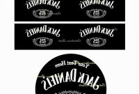 Blank Jack Daniels Label Template Best Of Download Vector About Jack inside Blank Jack Daniels Label Template