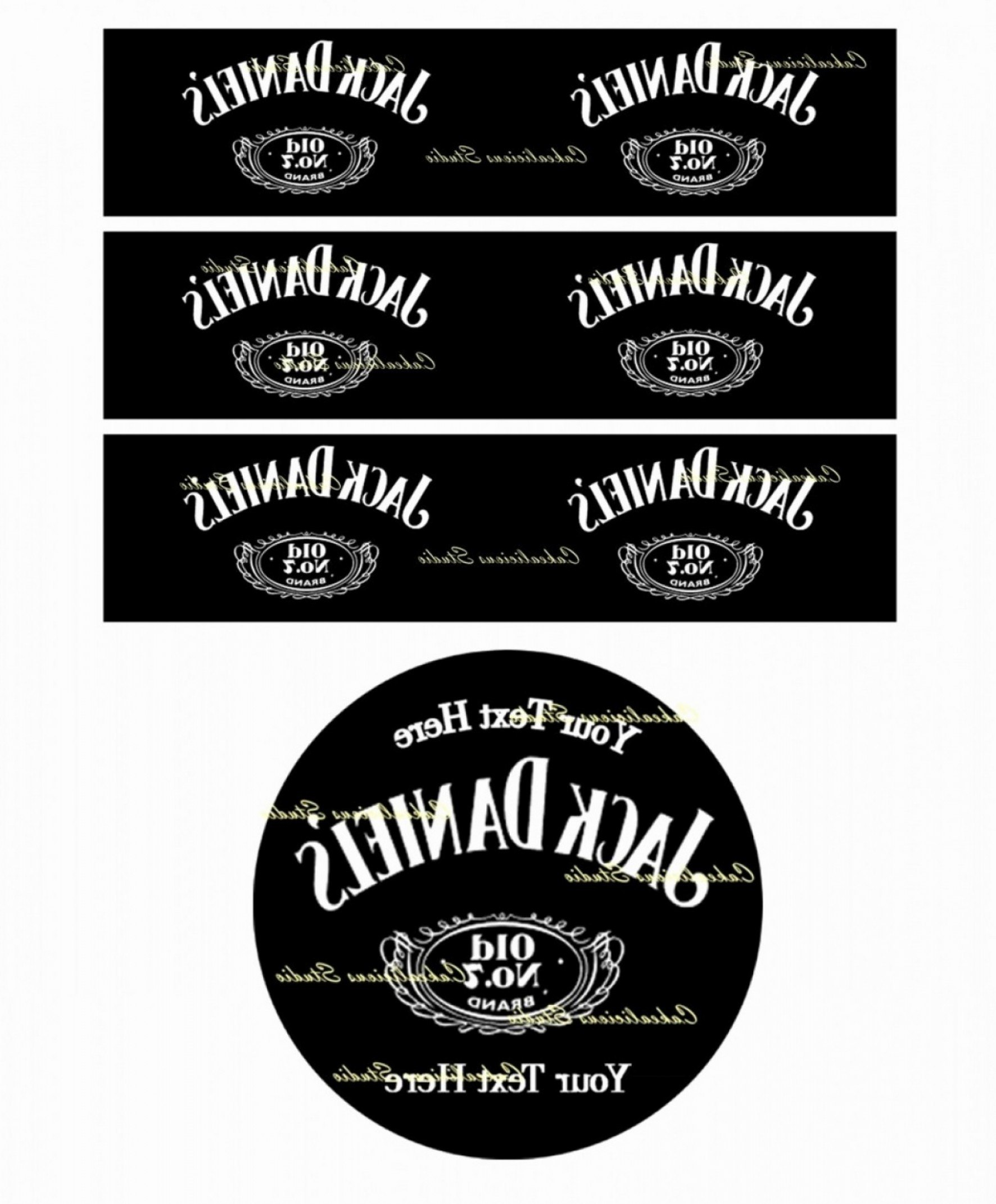 Blank Jack Daniels Label Template Best Of Download Vector About Jack Inside Blank Jack Daniels Label Template