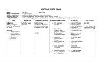 Blank Nursing Care Plan Templates  Google Search  Nursing Tips inside Nursing Care Plan Templates Blank
