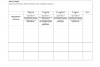Blank Rubrics To Fill In  Rubric Template  Download Now Doc  Gs inside Blank Rubric Template