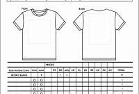 Blank Shirt Template Pdf  Dreamworks within Blank Tshirt Template Pdf