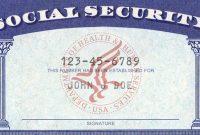 Blank Social Security Card Template Download Wwwimgkid – Nurul Amal inside Blank Social Security Card Template Download
