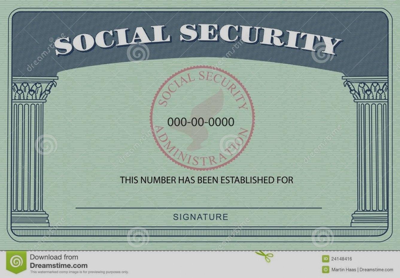 Blank Social Security Card Template  Hardbreakersthemovie Intended For Blank Social Security Card Template