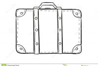 Blank Suitcase Template With Blank Suitcas   Clipartimage in Blank Suitcase Template