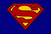 Blank Superman Logos within Blank Superman Logo Template