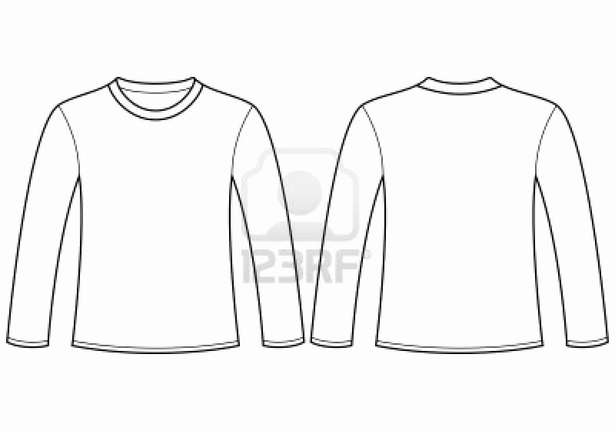 Blank T Shirt Templates For Illustrator  Azərbaycan Dillər Universiteti Intended For Blank Tshirt Template Pdf
