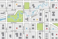 Blank Vector Map City Street  Geekchicpro with Blank City Map Template