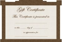 Blankmicrosoftwordgiftcertificatetemplate with Microsoft Gift Certificate Template Free Word