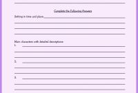 Book Report Template Th Grade  Homeschooling  Book Report for Book Report Template 2Nd Grade