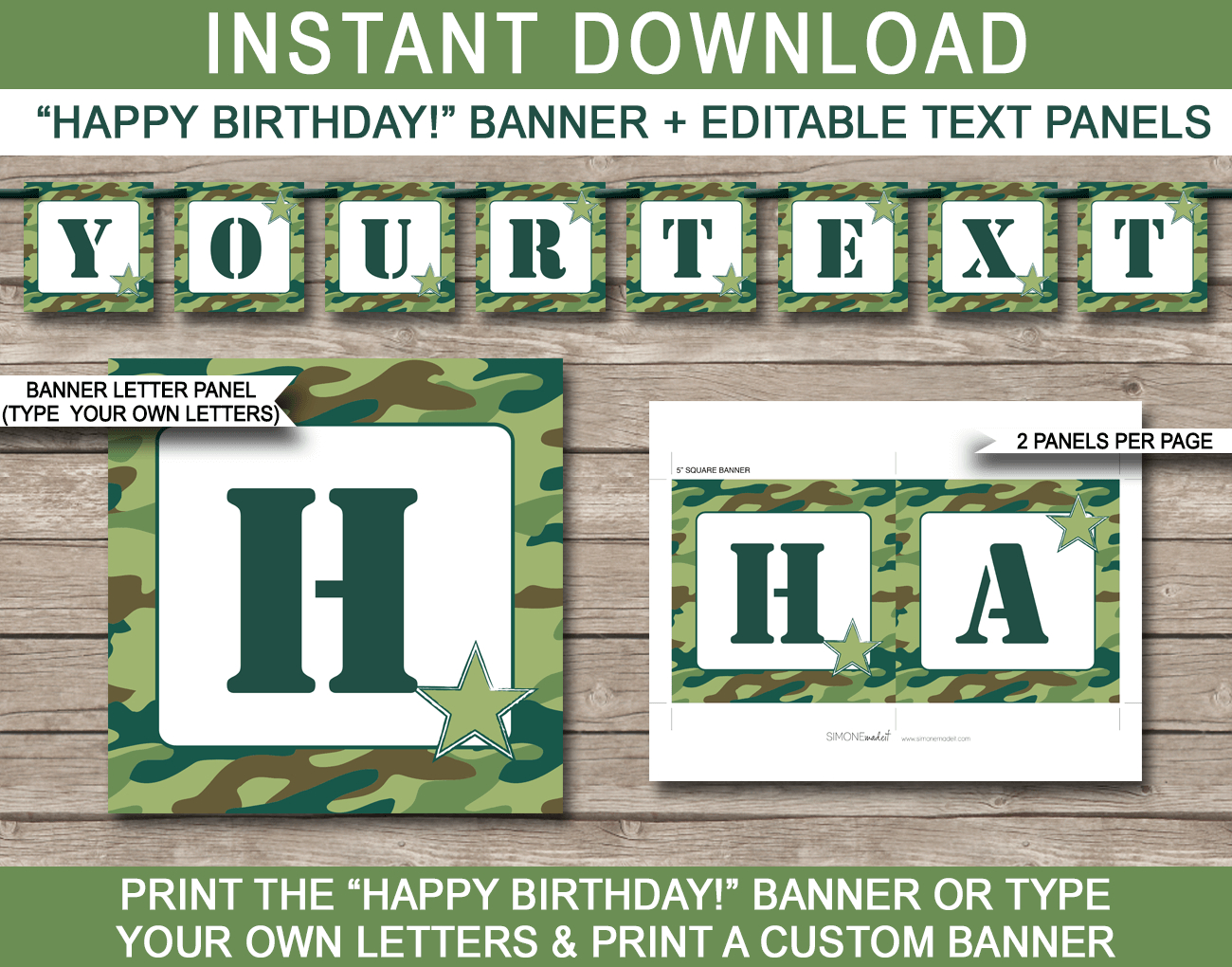 Boot Camp Party Printables Invitations  Decorations  Editable Intended For Boot Camp Certificate Template
