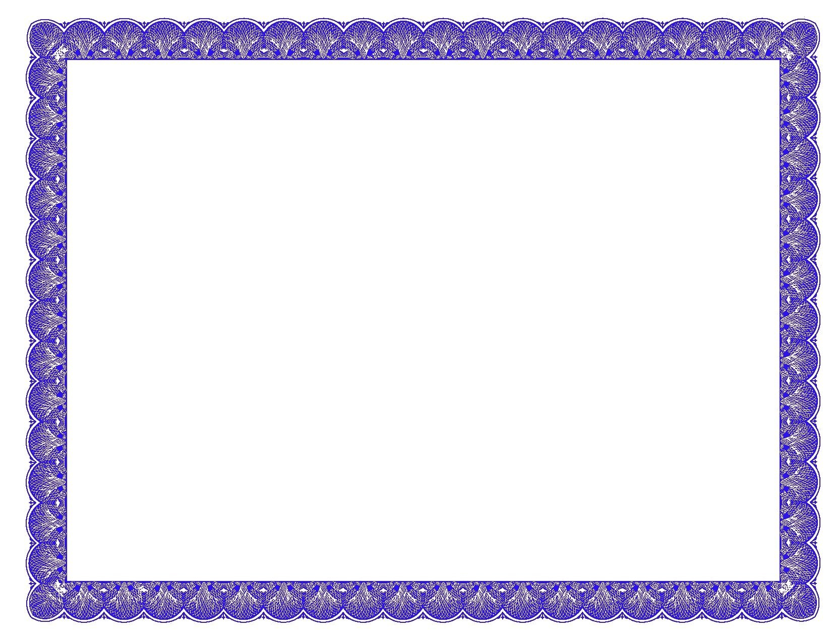 Border Template For Word Free Download  Vectorborders With Regard To Free Certificate Templates For Word 2007