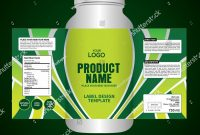 Bottle Label Package Template Design Label Stock Vector Royalty for Z Label Template