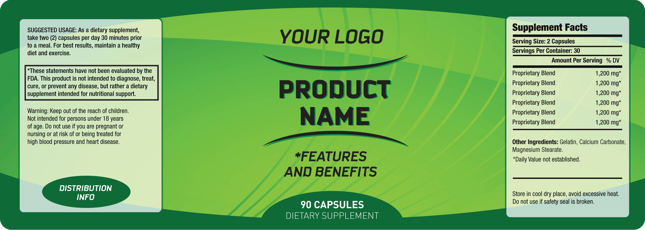 Bottle Labels Templates  Template Business Pertaining To Product Label Design Templates Free