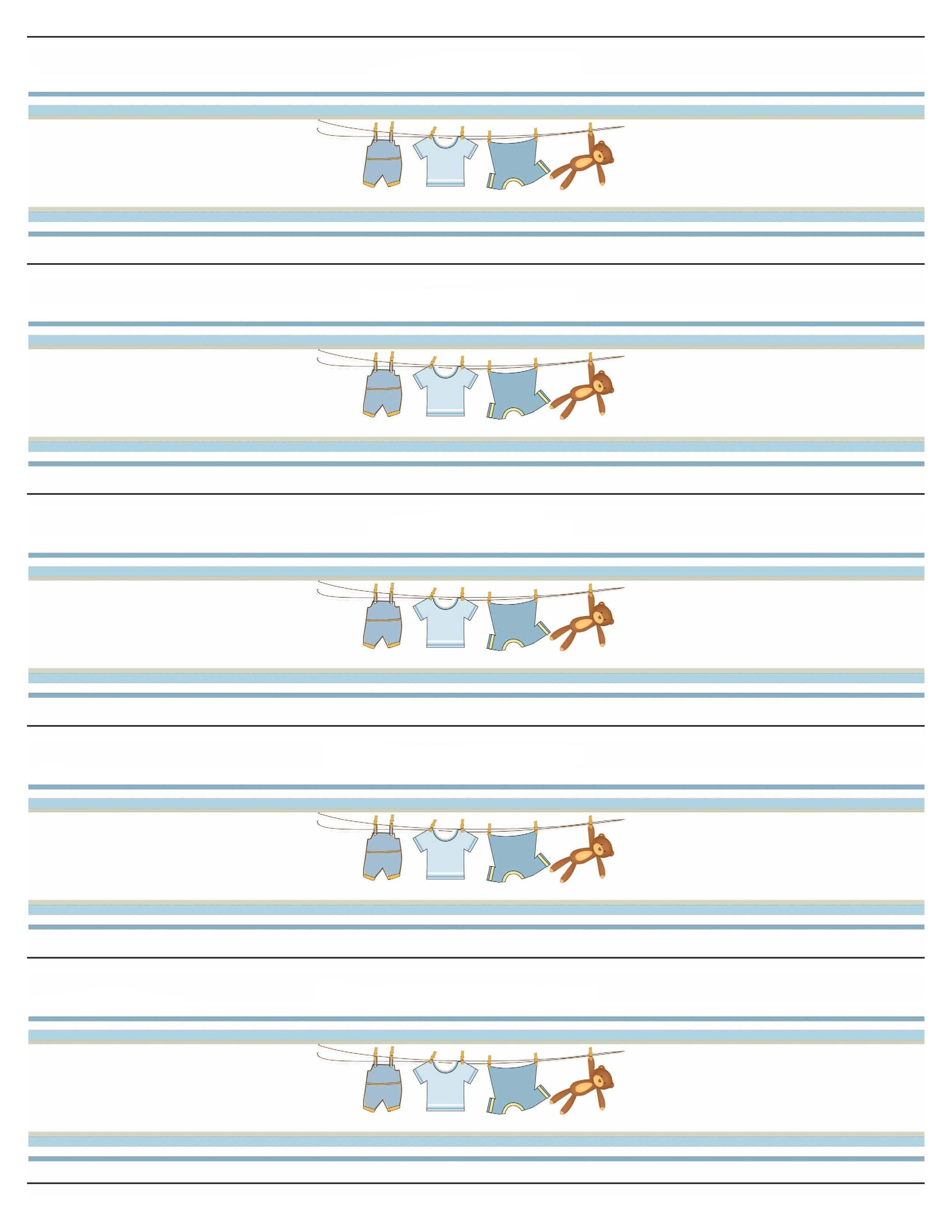 Boy Baby Shower Free Printables  Baby Shower Free Printables  Free With Free Water Bottle Labels For Baby Shower Template