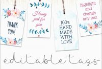 Bridal Shower Favor Tags Template Free Pretty Wedding Favor Label within Bridal Shower Label Templates