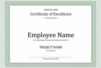 Brilliant Ideas For Employee Work Anniversary Certificate Templates pertaining to Employee Anniversary Certificate Template