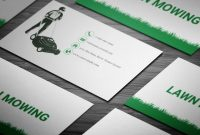 Brilliant Lawn Mowing Business Card Full Preview  Free Business regarding Lawn Care Business Cards Templates Free