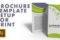 Brochure Template Setup For Print In Adobe Illustrator  Youtube regarding Brochure Templates Adobe Illustrator