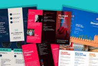Brochure Templates And Design Tips To Inform Your Audience And regarding Business Process Catalogue Template