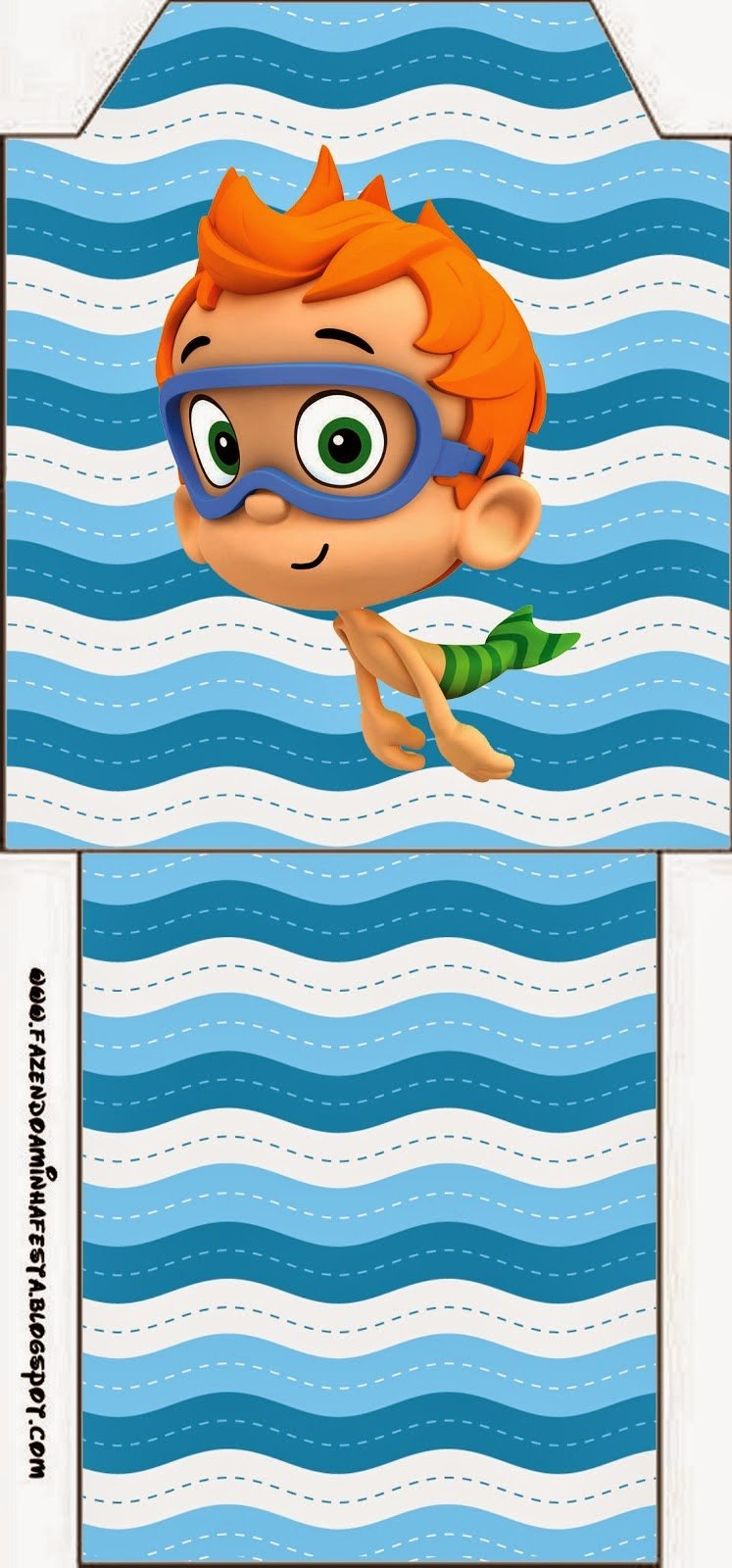 Bubble Guppies Free Party Printables  Oh My Fiesta In English For Bubble Guppies Birthday Banner Template