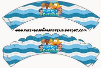 Bubble Guppies Free Party Printables  Oh My Fiesta In English inside Bubble Guppies Birthday Banner Template