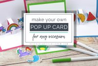 Build Your Own D Card With Free Pop Up Card Templates  The Kitchen pertaining to Diy Pop Up Cards Templates
