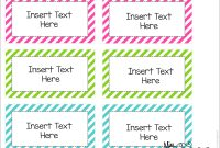Bulletin Board  Fonts  Clipart Let's Get Crafty  Math Vocabulary with Free Templates For Labels In Word