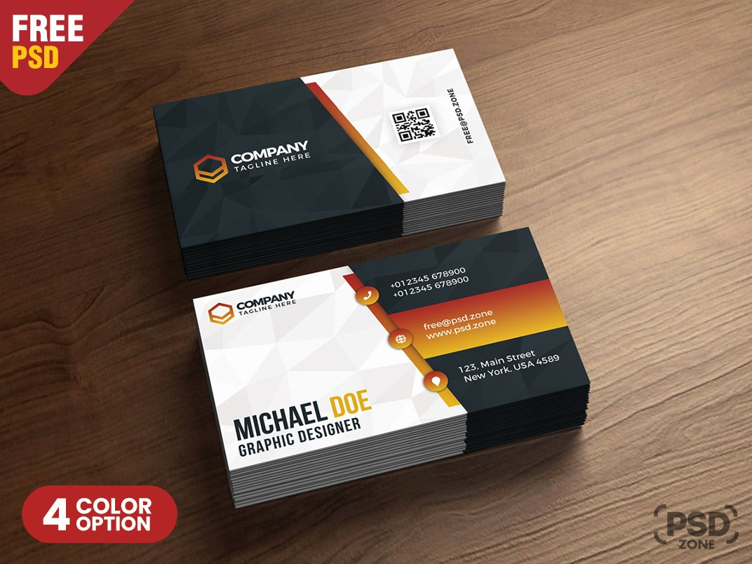 Business Card Design Templates Psdpsd Zone  Dribbble  Dribbble Throughout Name Card Design Template Psd