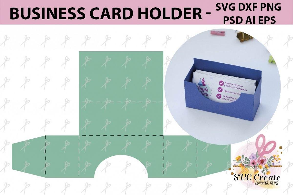 Business Card Holder Template Stand Paper Organiser Box Regarding Business In A Box Templates