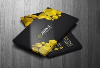 Business Card Template Professional Business Card Template  Etsy inside Professional Name Card Template