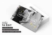 Business Card Templates For Photographers  Decolore for Photography Business Card Template Photoshop