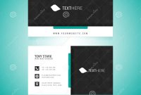 Business Card Vector Template Stock Vector  Illustration Of Adobe in Adobe Illustrator Card Template