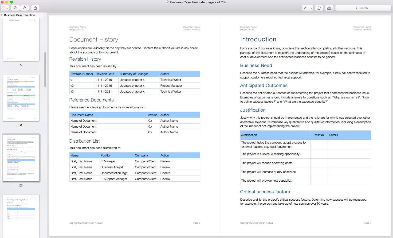Business Case Template Apple Iwork Pages – Templates Forms With Regard To How To Create A Business Case Template