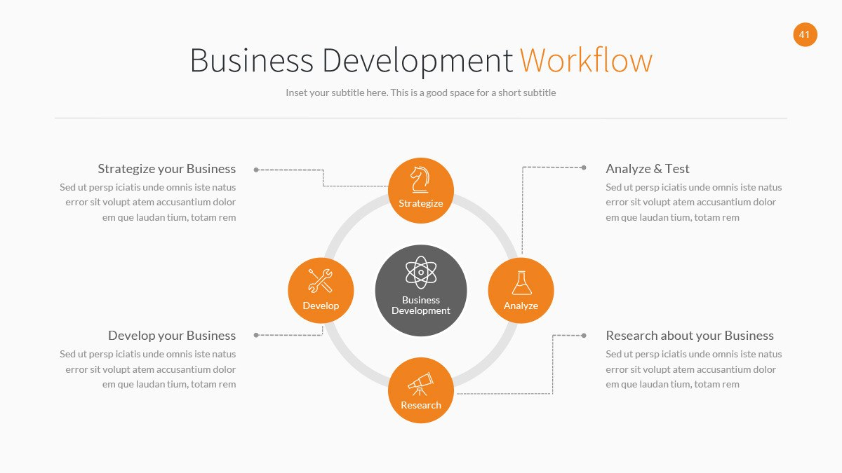 Business Development Powerpoint Templatejafardesigns  Graphicriver Throughout Business Development Presentation Template
