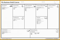 Business Model Canvas Vorlage Word Beste Business Model Canvas with Osterwalder Business Model Template