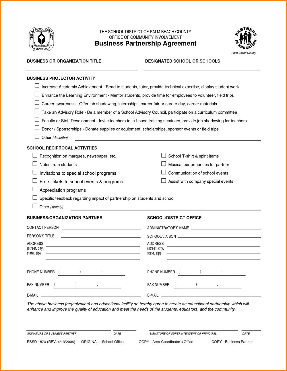 Business Partnership Agreement Template Free Ideas Rare Download Intended For Template For Business Partnership Agreement