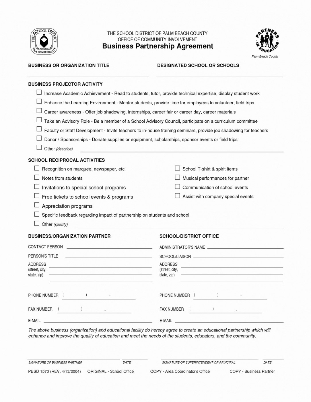 Business Partnership Contract Template  – Elsik Blue Cetane For Business Contract Template For Partnership