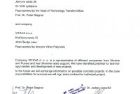 Business Partnership Letter Template  – Elsik Blue Cetane pertaining to Letter Of Intent For Business Partnership Template