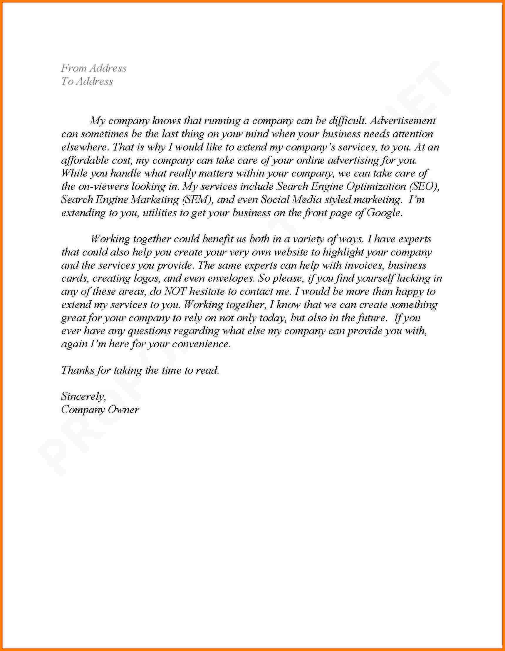 Business Partnership Proposal Letter  – Elsik Blue Cetane With Regard To Business Partnership Proposal Letter Template