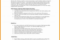 Business Plan Sales Manager For Interview Special Template with Business Plan For Sales Manager Template
