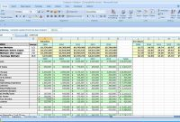 Business Plan Spreadsheet Template Sample Of Format in Business Plan Spreadsheet Template Excel