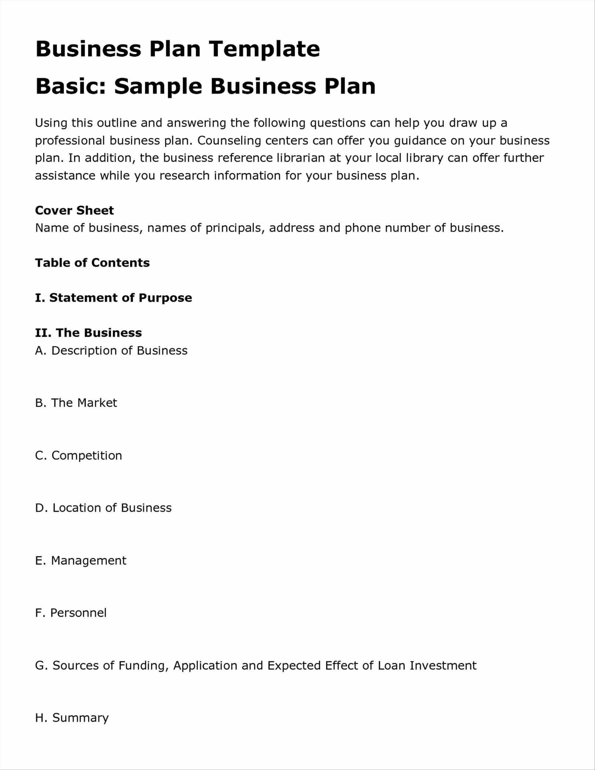 Business Plan Template Restaurant Templates In Word Excel Pdf Free With Business Plan Template Free Word Document