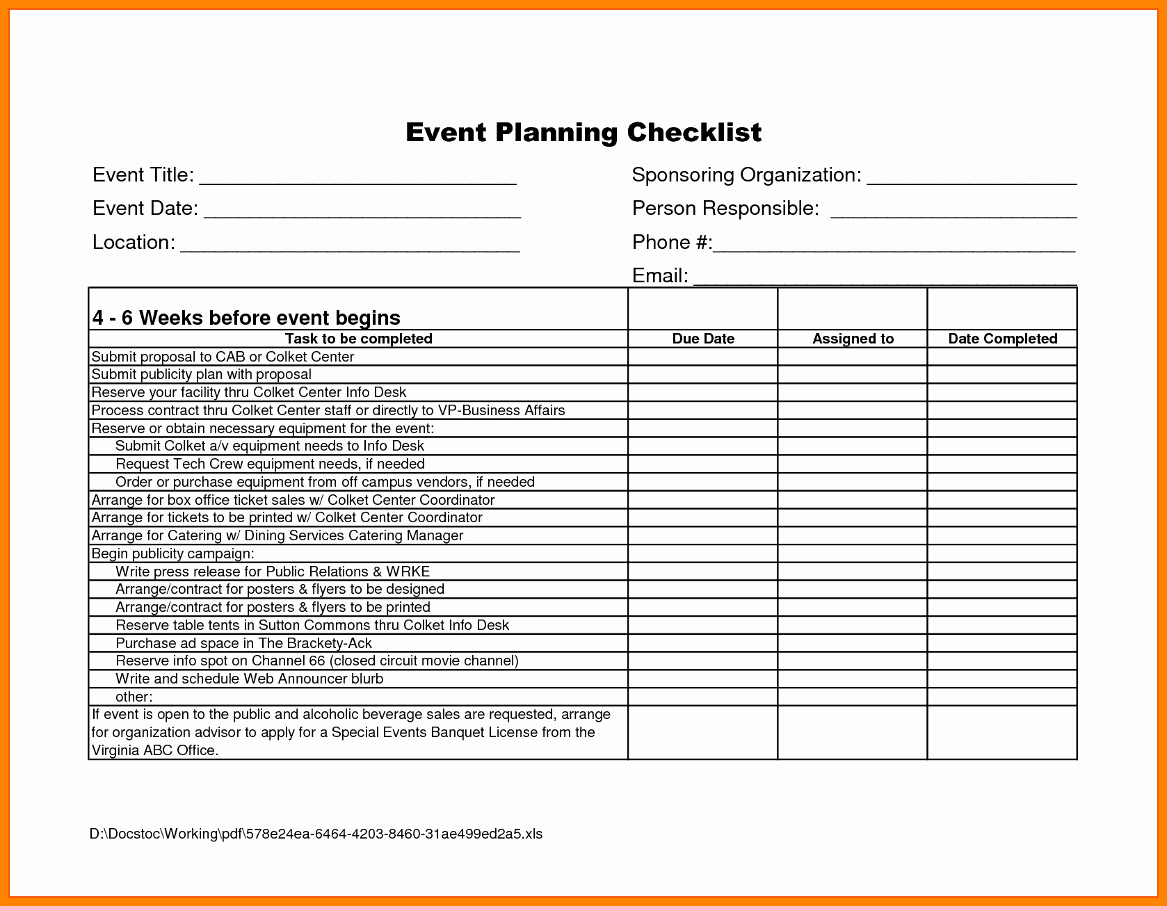 Business Plans Event Plan Planning Template Free E Intended For Events Company Business Plan Template