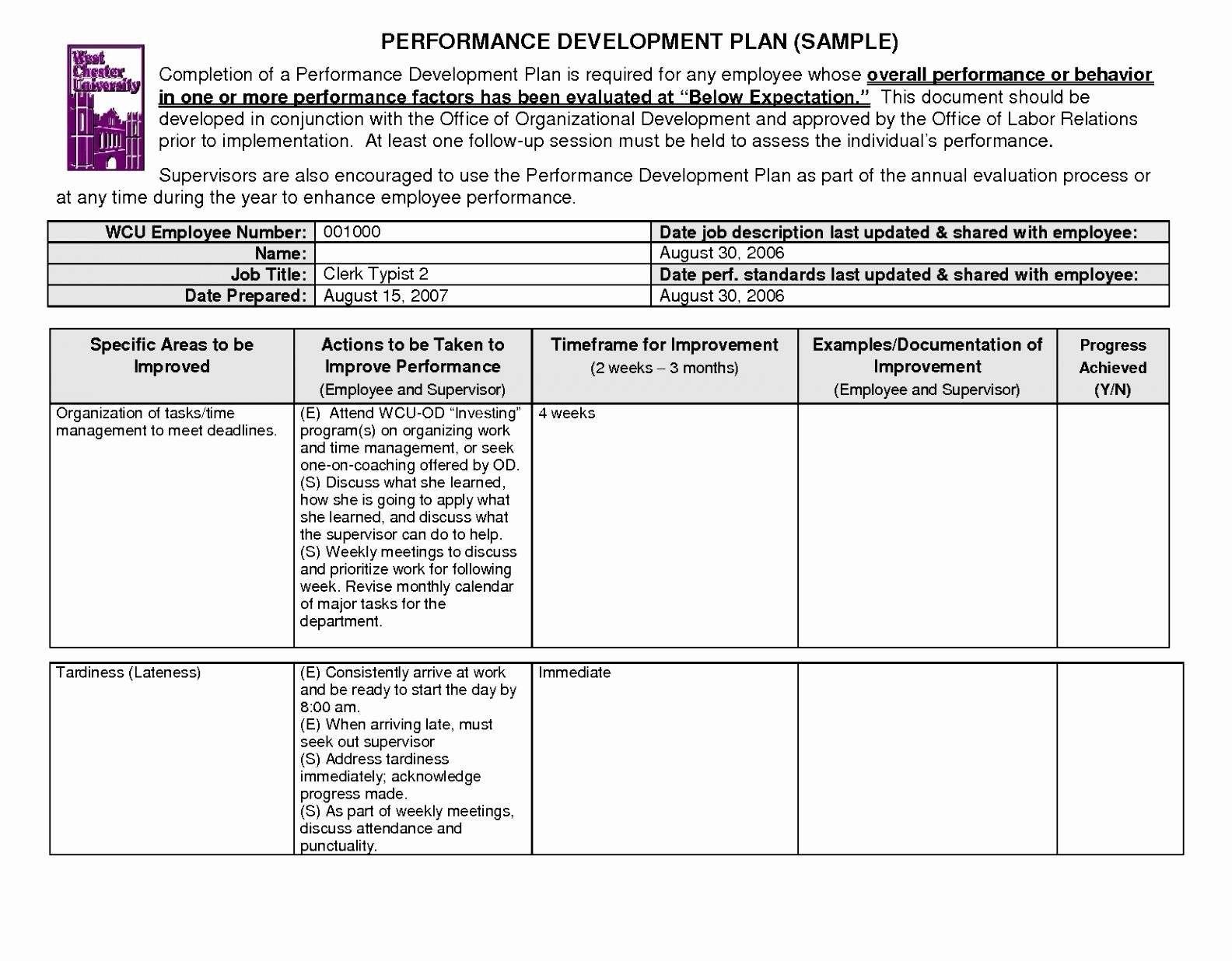 Business Process Improvement Template Performance Improvement Plan Regarding Business Process Improvement Plan Template
