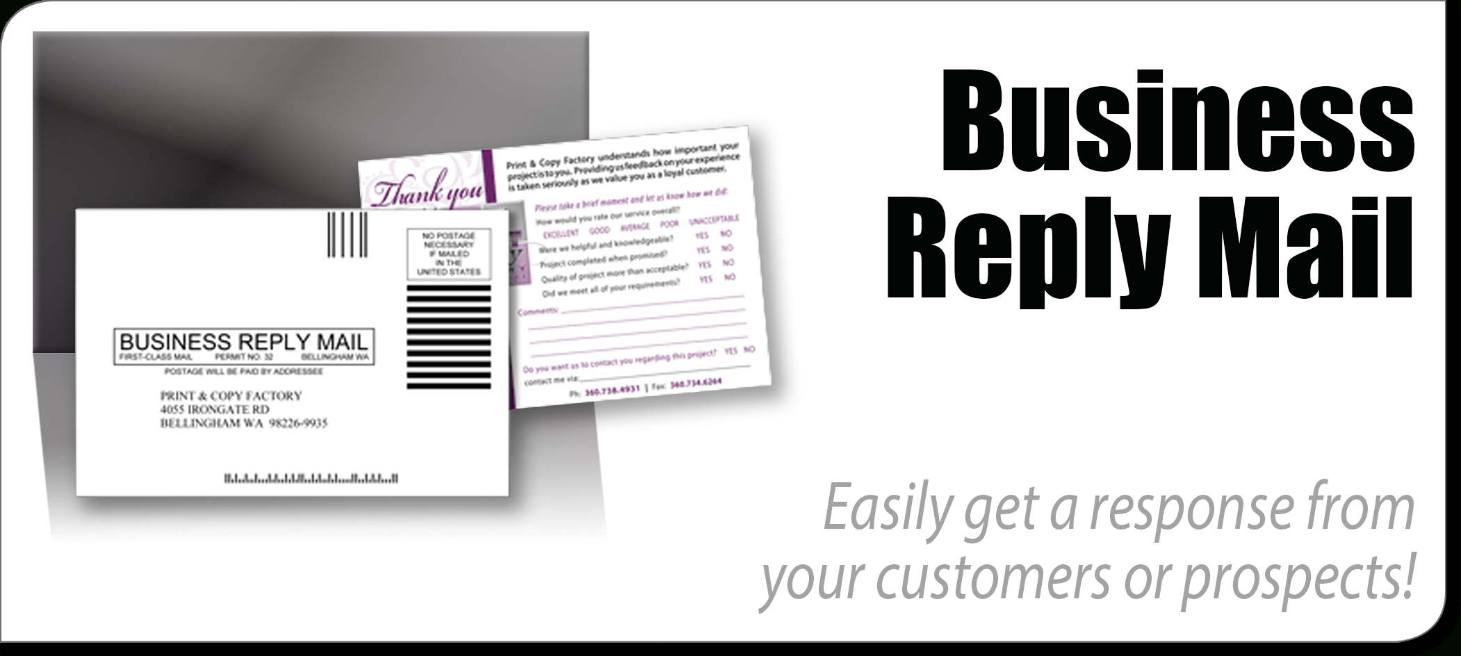 Business Reply Mail  Print  Copy Factory  Pcfwebsolutions With Regard To Business Reply Mail Template
