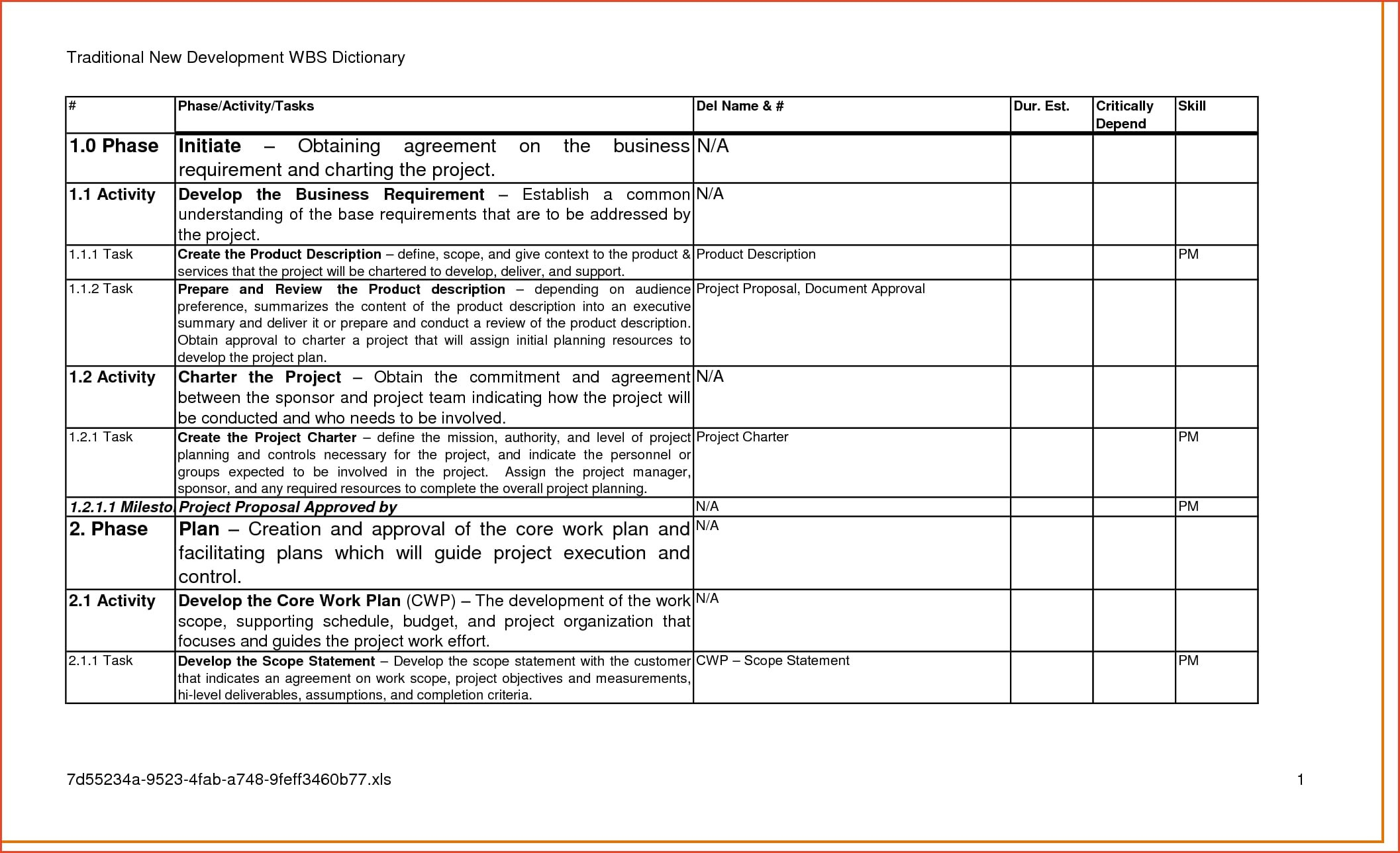 Business Requirements Document Examples  Pdf  Examples Inside Business Requirements Questionnaire Template