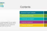 Business Review Powerpoint Template  Slidemodel inside Business Development Presentation Template